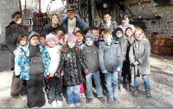 2012 11 03 Ecole de Ners au Mas Teissier
