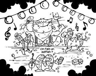 """Résultat de recherche d'images pour """"danse guinguette dessin humoristique"""""""